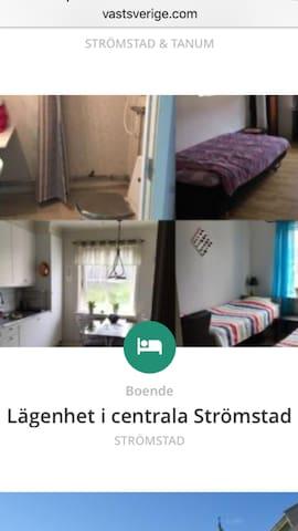 sentral lägenhet i strömstad - Strömstad - Appartement