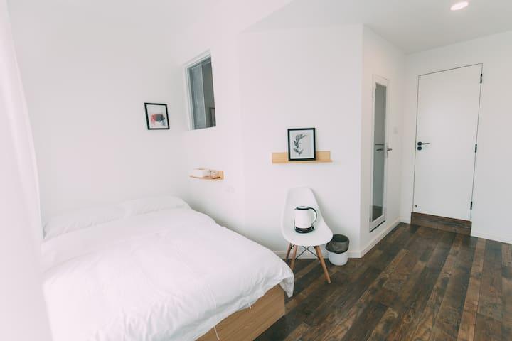 凳子民宿•Room08 北欧极简主义 茂名首家文艺民宿