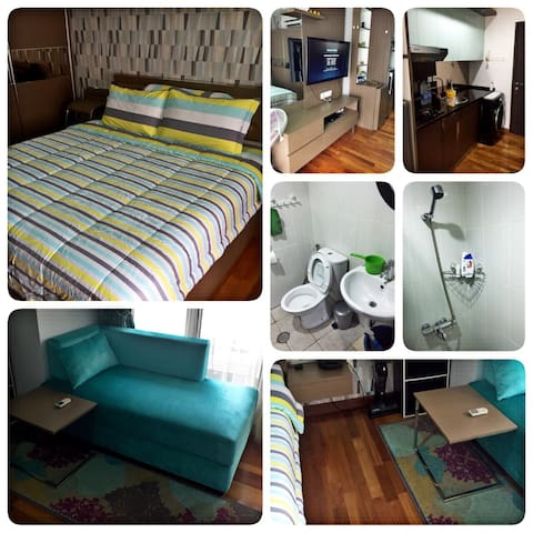 Fully Furnished Studio Aprt- Tamansari Semanggi