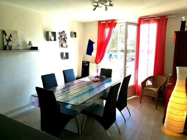 Chambre Privée dans Appartement Cosy de 95m² - Bayonne - Condominio