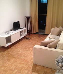alugo quarto em apartamento alphaville - Barueri - 아파트