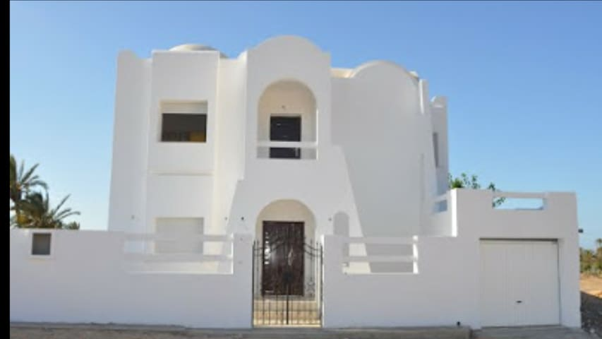 Une villa à louer à Djerba Tunisie