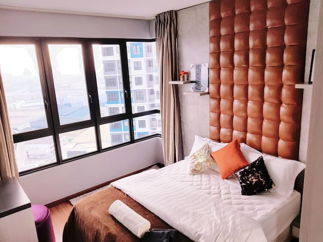 ♥[PROMO]⚡PRIVATE BEDROOM+BATH⚡ WIFI+poolview@iCity