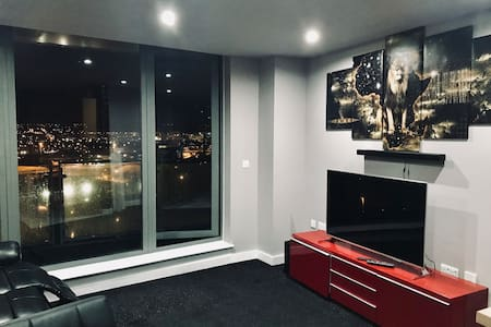 Leeds city centre apartment with large balcony