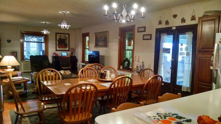 Main Dining Area.
