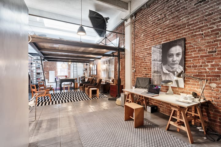 Charming genuine LOFT, movie location. NY allure! - Turín - Loft