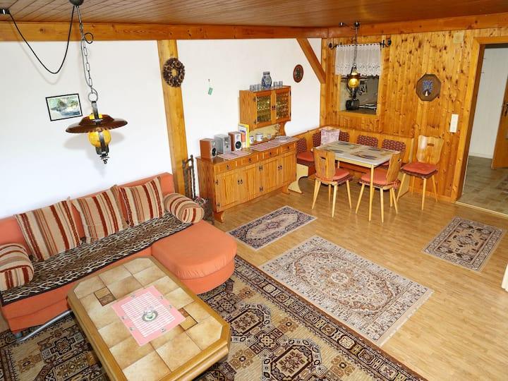 Haus Hölltalblick, (Schönwald), Ferienwohnung, 70 qm, 1 bis 2 Schlafzimmer, max. 4 Personen