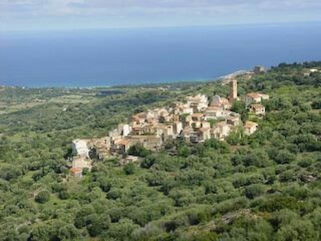 Maison de charme dans village corse - Aregno - Casa
