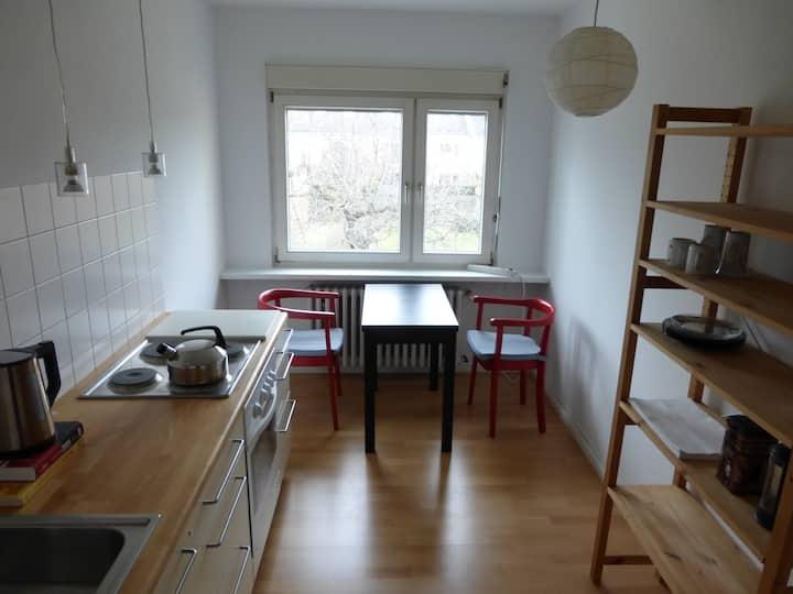 Apartment, hell, ruhig, geräumig, zentrumsnah