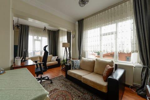 Gelegenheid %50 korting!! Gezellige flat in het stadscentrum