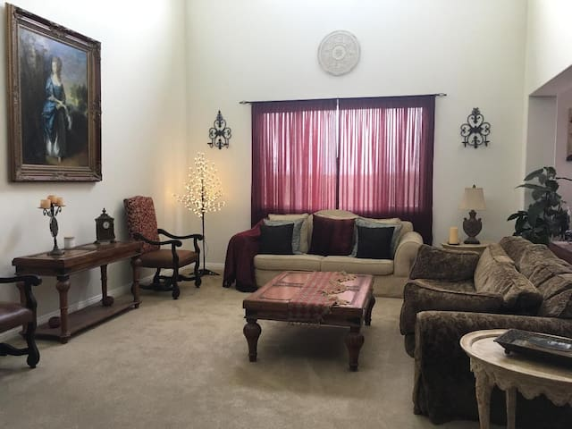Private room in Estate sized home, gated community