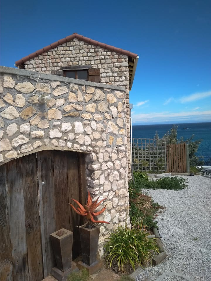 Blue skies and stunning views of the ocean from nearly every room in Villa De Pierre, is what my guests love and come back for time and time again!