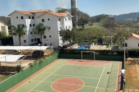 Apartamento com piscina em bragança paulista