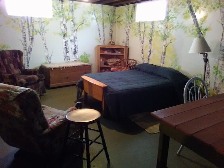 The Commons: Basement double bedroom