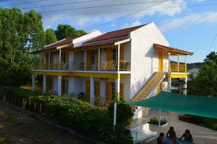Yellow House Near The Sea (2)