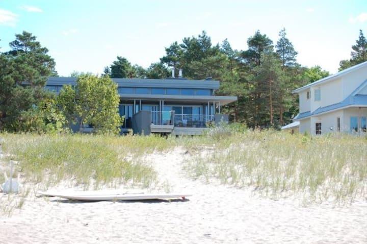 Sandy Beach right on Georgian Bay