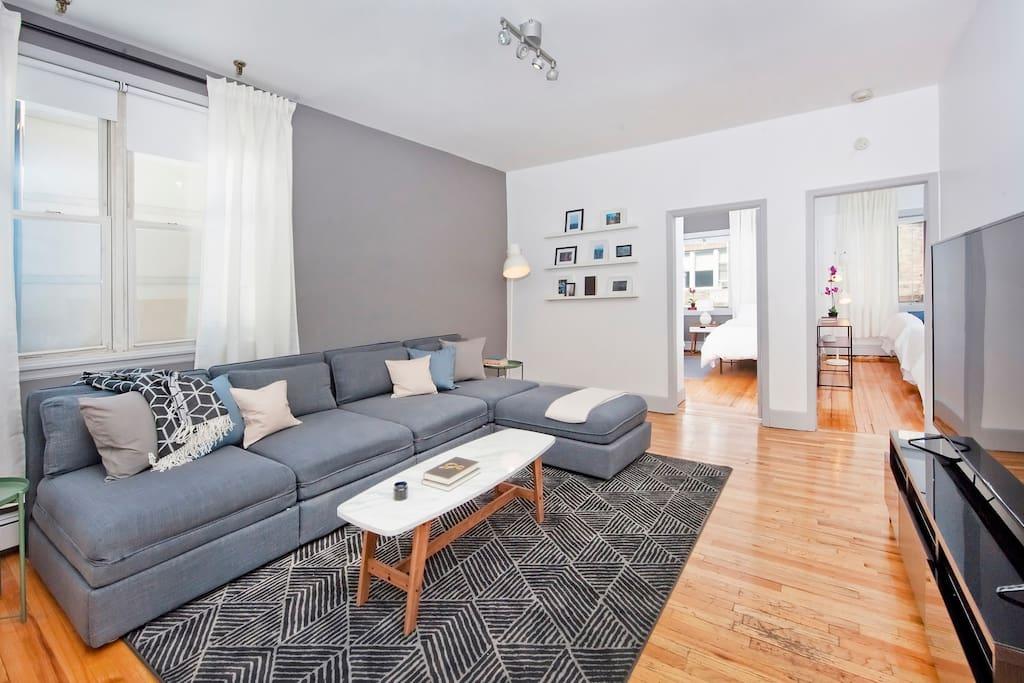 Massive 3 Bedroom 10 Bed 10 Minutes To Manhattan Apartments For Rent In Hoboken New Jersey