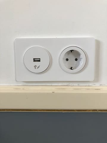 USB in power socket