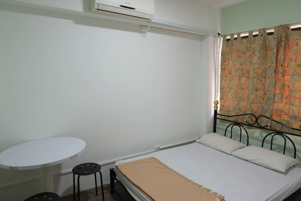 Double Bed With Aircon