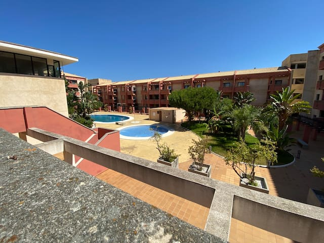 Apartamento con piscina en Punta Umbria