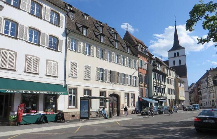 Strasbourg centre /Quai des pêcheurs / cosy pour 4
