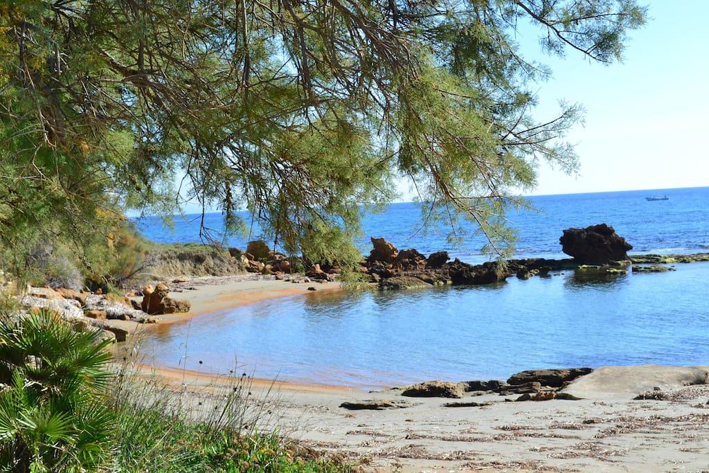 Spiaggia Baia del Molo