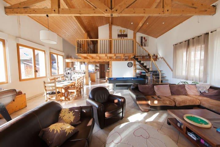 Maison spacieuse au pays du Mont-Blanc - Sallanches - Haus