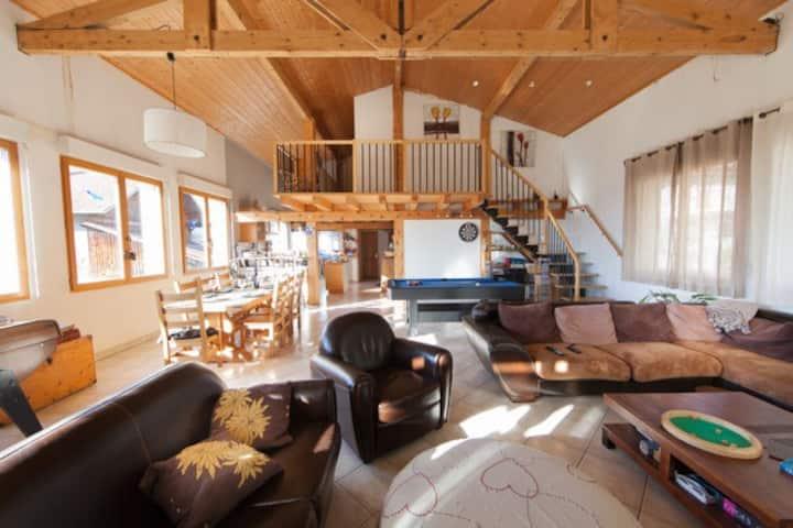 Maison spacieuse au pays du Mont-Blanc