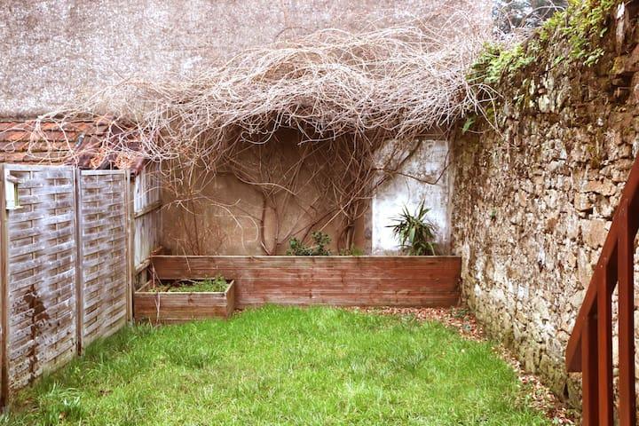 Studio calme et son jardin - Nantes - Byt