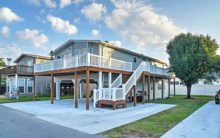 3br surfside beach house w   wraparound deck