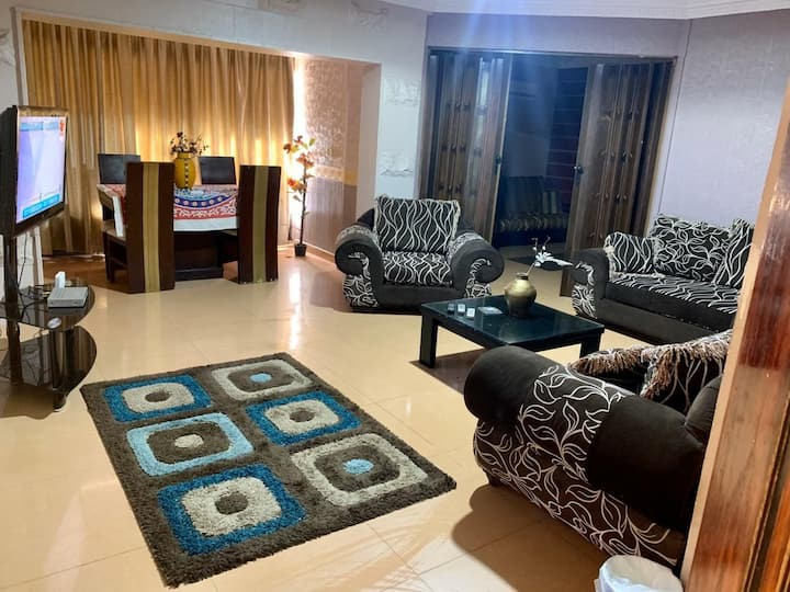 Fully equipped apartment in Rehab City
