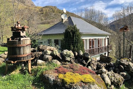 Maison individuelle avec grand jardin à Gavarnie