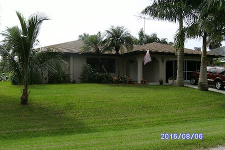 3/2/2 Canal Front Pool Home - Port Charlotte - Σπίτι