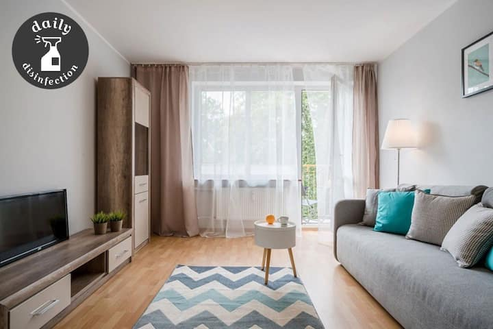 Cosy and bright apartment/ Opera House