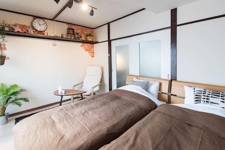 Nakameguro Suite/Wi-Fi/7mins to Sta - Meguro-ku - Departamento