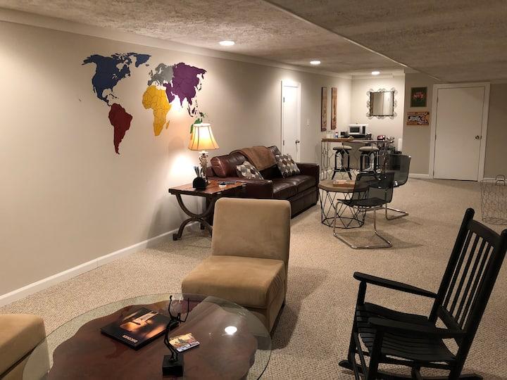 Quaint Guest Suite-Near Downtown Cville
