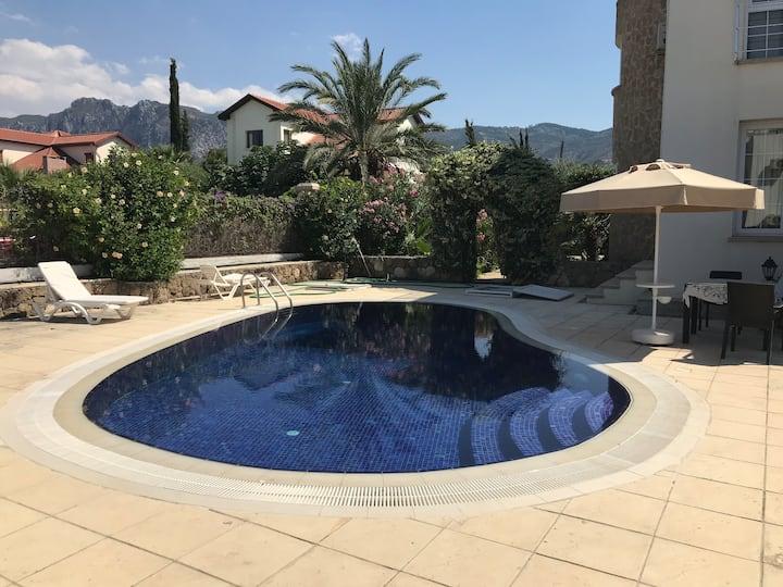 Holiday Villa North Cyprus three bedroom pool