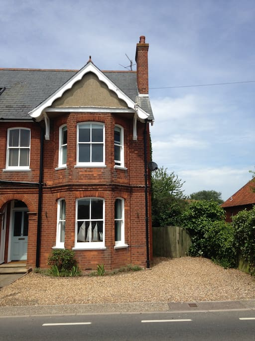 Our Edwardian House with private off road parking.