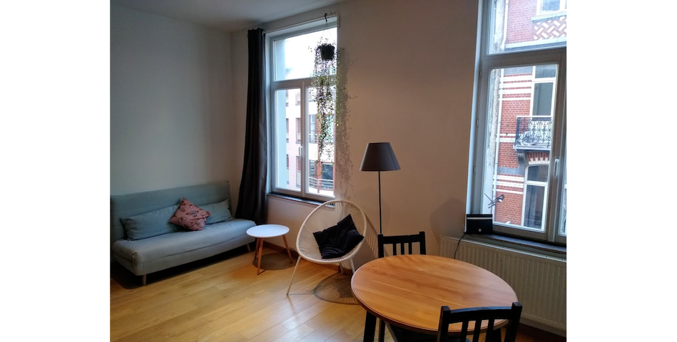 Convenient studio in Saint-Boniface, Ixelles