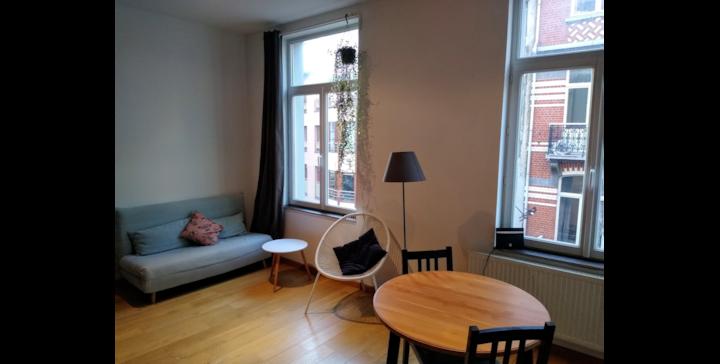 Convenient studio in Saint-Boniface, Ixelles
