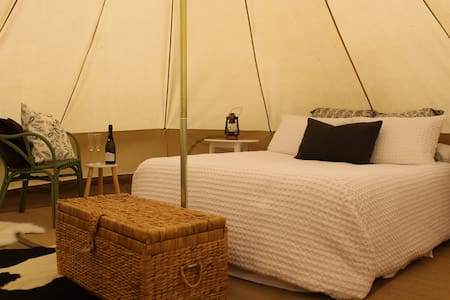 Glamping 4 Metre Bell Tent - Glenworth Valley - Палатка
