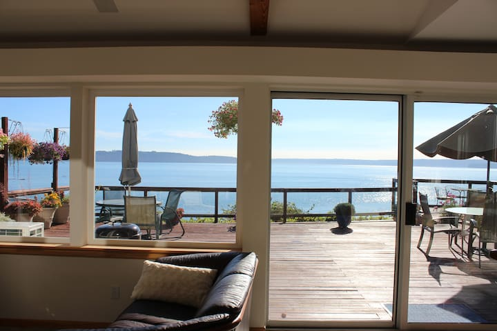 This is your view all day long inside and outside of the home