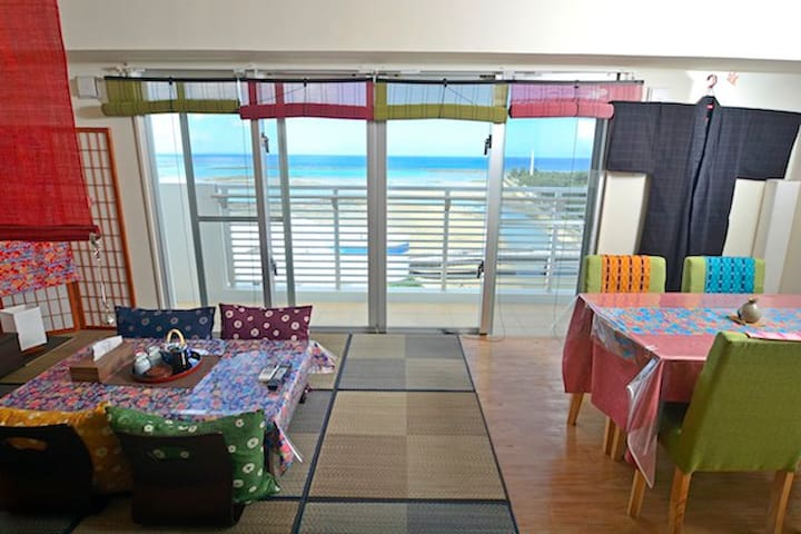 Beach front condominium! high floor ocean view!