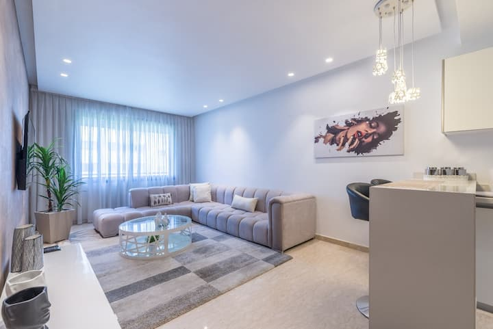 Le Condo 16-Comfy 1BR in the heart of Casablanca 💯
