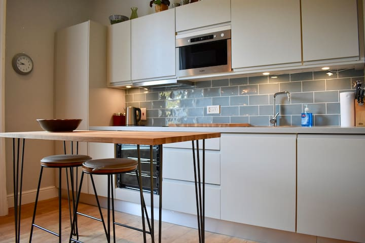 Calm and attractive flat in historic Clontarf
