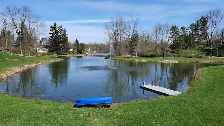 Paddles Up at Little Punderson Lake