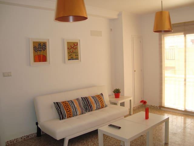 Apartamento con encanto en centro de Elche - Elx - 아파트(콘도미니엄)