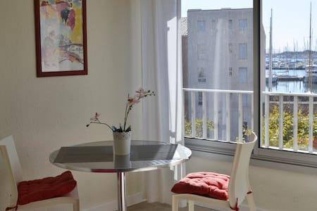 studio centre port du Cap , parking - Le cap d'Agde - Apartment