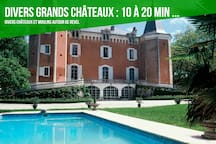 Château Revel et alentours