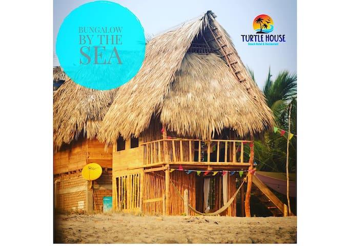 Comfortable bungalow /beach ( boca del cielo)